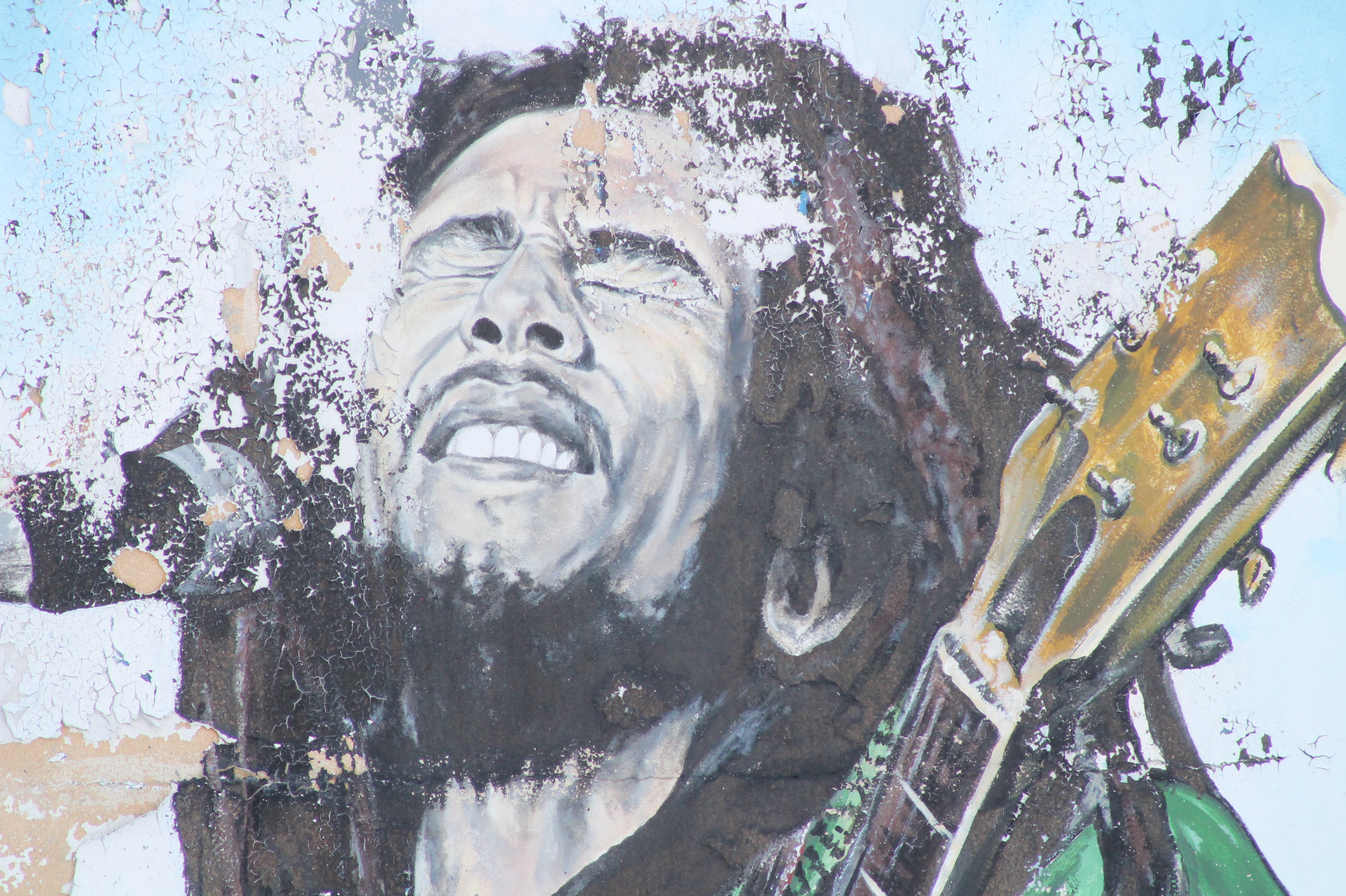 Legend bob marley thoughts and entanglements for Bob marley mural