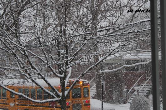 school day snow day