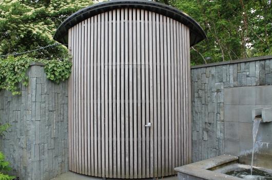 door gate  to spice garden