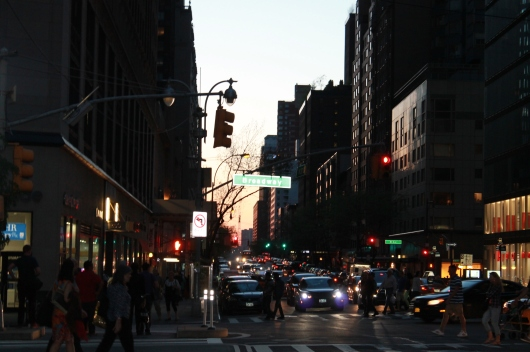 evening in the city 2