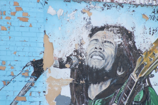 bob marley mural 7 close up