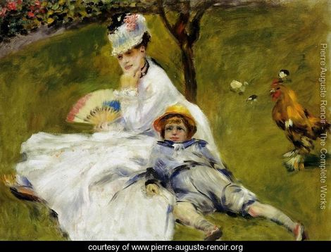 camile monet by renoir