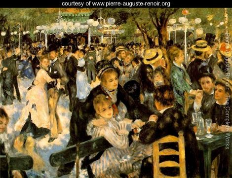 dance of moulin by renoir