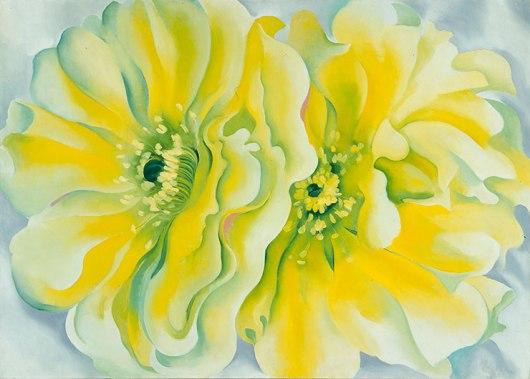 o'keeffe yellow cactus