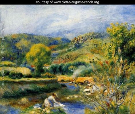 renoir the laundress